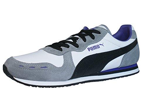 Puma - Cabana racer ii ls zapatilla/zapato para mujer estilo con cordones, talla 6.5 uk, color blanco