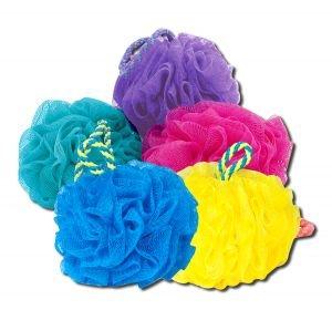 EcoTools Razz Bath Sponge pack