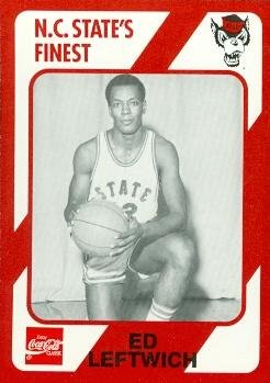 Ed Leftwich Basketball Card (N.C. North Carolina State) 1989 Collegiate Collection - State 111 N