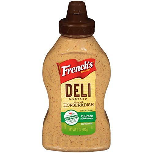 French's Horseradish Mustard 12 oz (Pack of 3) (Mustard Buffalo)