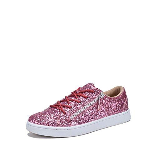 Dream Seek 7540l Glitter Zapatillas Moda Mujer Rosa
