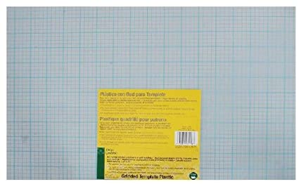 dritz quilting gridded template plastic