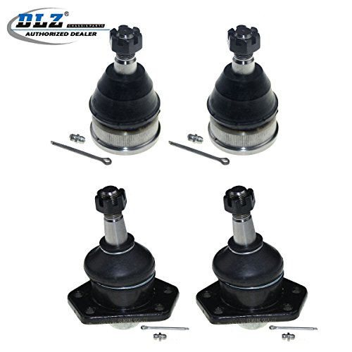 DLZ 4 Pcs Front 2 Lower 2 Upper Ball Joint Compatible with 1991-1996 Buick Roadmaster 1995-2005 Chevrolet Blazer 1977-1996 Cadillac Fleetwood 1991-2003 GMC Sonoma RWD 1977-1996 Chevrolet Caprice K5208