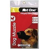 Dog Muzzle Adjustable Medium (Pet One)