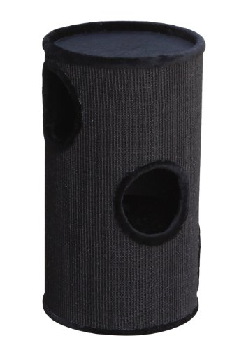 Nobby-63004-04-Dasha-II-Cat-Scratching-Post-Black