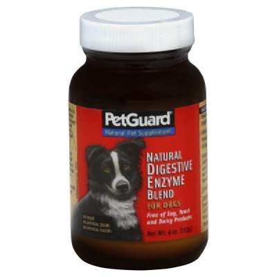 Amazon.com: Petguard Natural Powder – Digestivo Enzimas para ...