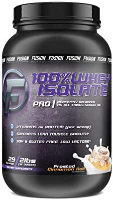 Fusion Sports Performance 100 Whey Protein Isolate