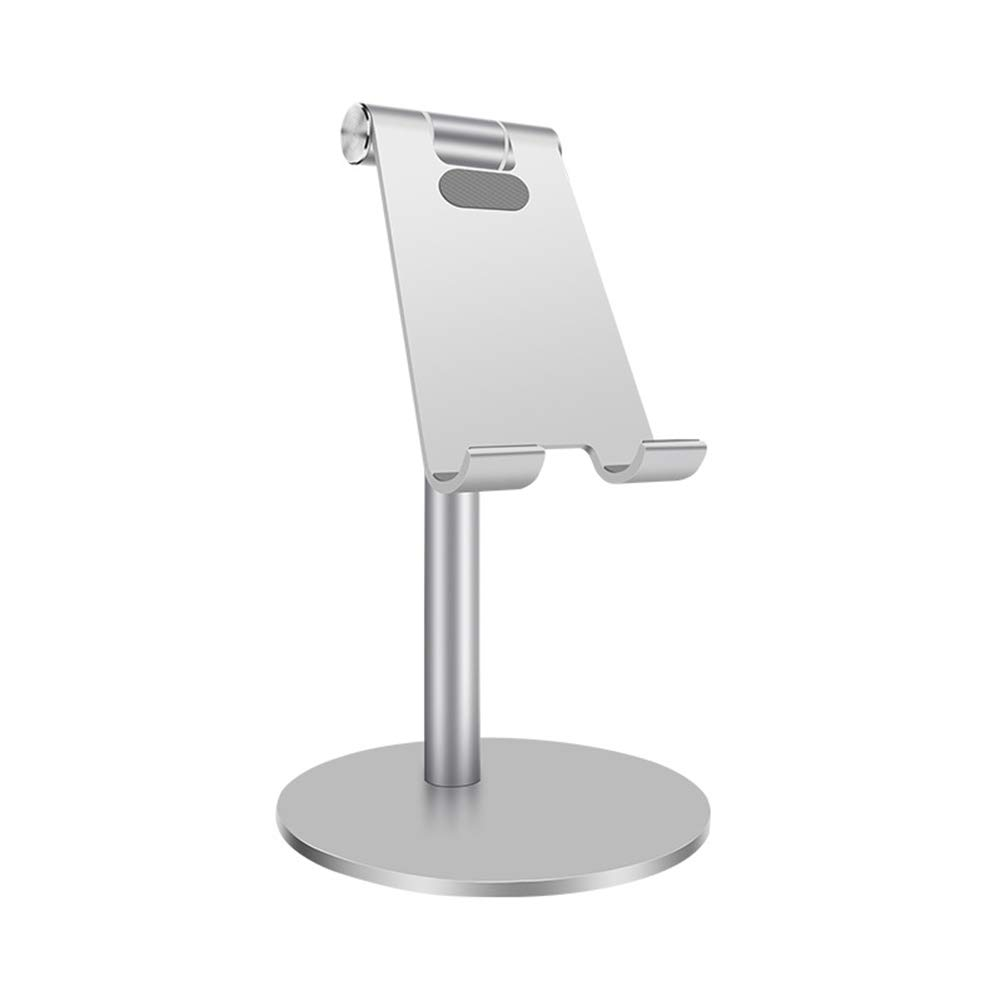 feeilty Cell Phone Stand For Desk Universal Adjustable Tablet Phone Stand Telescopic Rotatable Aluminum Desktop Stand Holder