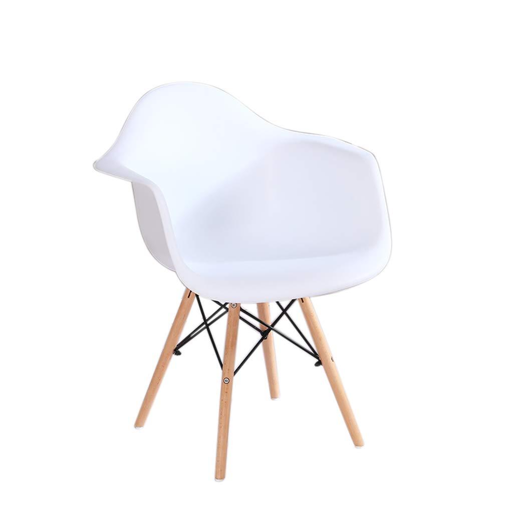 White JU FU Chair Modern Minimalist Dining Chair Computer Chair Armchair Office Chair - Multi-color Optional (Size  41X39X98cm) @@ (color   Yelloe)