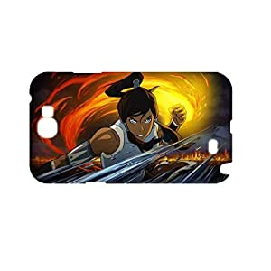 Generic Friendly Back Phone Case For Girly Print With The Legend Of Korra For Samsung Galaxy Note2 Full Body Choose Design 1-2