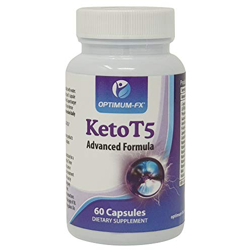 Keto T5 Diet Pills Advanced Ketogenic Support – Fat Burner – Pre-Workout Energiser – Pure Energy Booster – Weight Loss…