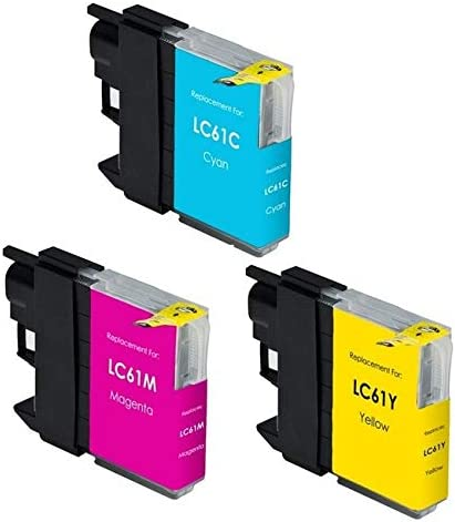 LC-980CMY SuppliesMAX Compatible Replacement for Brother DCP-165//375//585//MFC-250//495//MFC-5490//6890//J220//J630C Inkjet Combo Pack C//M//Y-375 Page Yield