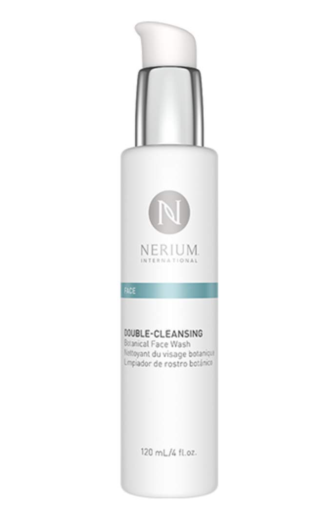 Double-Cleansing Botanical Face Wash