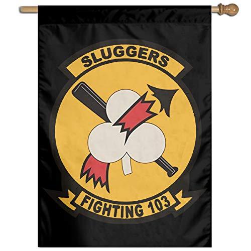 DSJKL KLSD Magnet US Navy VF-103 Sluggers Squadron Demonstration Parade Banner 27