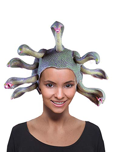 Forum Novelties Women's Medusa Costume Headpiece, Green, One Size -