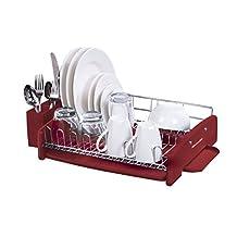KitchenAid 3PC Dish-Drying Rack Large Capacity Red