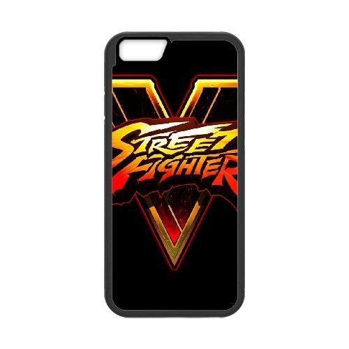 Street Fighter V Fighting Logo 143 coque iPhone 6 4.7 Inch cellulaire cas coque de téléphone cas téléphone cellulaire noir couvercle EEECBCAAN03286