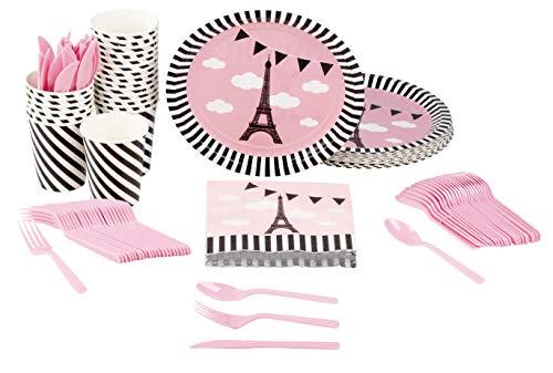 Disposable Dinnerware Set - Serves 24 - Party