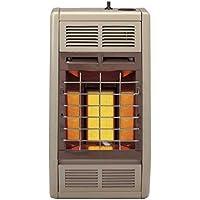 Empire Infrared Heater Liquid Propane 10000 BTU, Manual Control