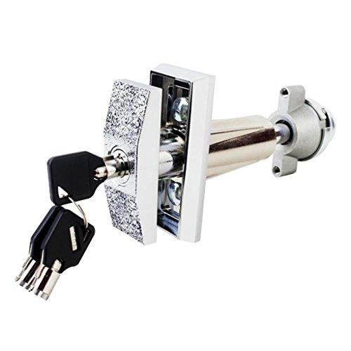 Blesiya Universal Replacement Plug Lock Snack Food Beverage Vending Machine Lock With 3 Pieces Keys