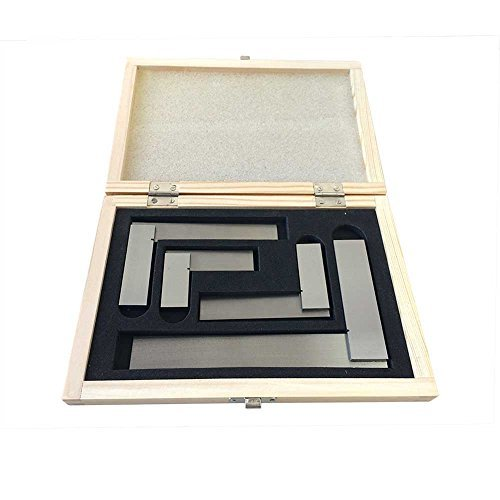Kaufhof ASS-5535 Precision Steel Squares Set 4 Piece (Square Steel Engineers)
