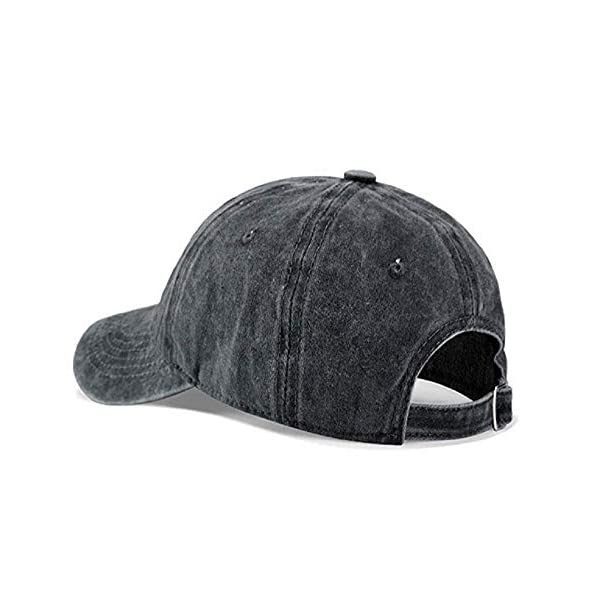 MOCSTONE Border Collie Adult Adjustable Denim Cotton Dad Hat Baseball Caps 2