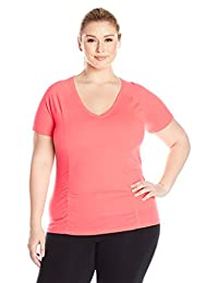 Fruit of the Loom Womens Plus-Size Breathable Shirred T-Shirt