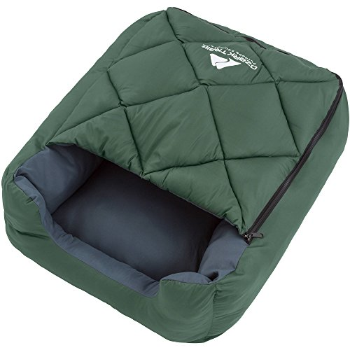 Ozark Trail Dog Sleeping Bag, Green For Sale