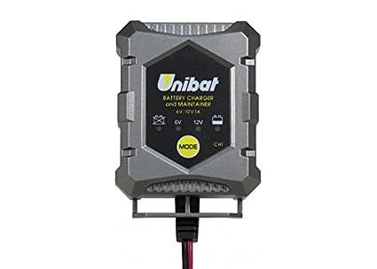 UNIBAT - Cargador y Mantenedor de Baterías de GEL, AGM y ...
