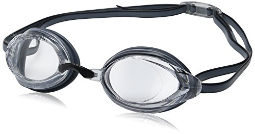 (Speedo Vanquisher 2.0 Swim Goggle, Clear, One Size)