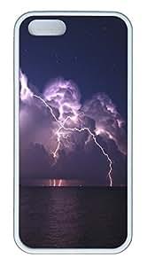 iPhone 5S Case Island Storm TPU Custom iPhone 5/5S Case Cover White
