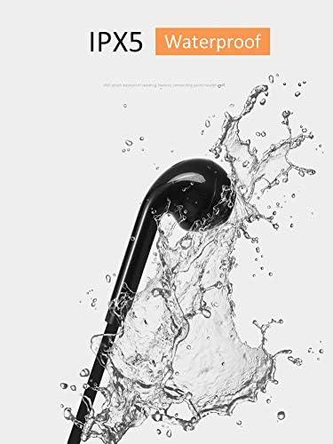 Schwarz Kabellose Bluetooth-Kopfh/örer mit Mikrofon f/ür Samsung Galaxy A10 bequemes und schnelles Paaren