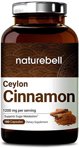 Cinnamon Supplements Capsules Powerfully Metabolism