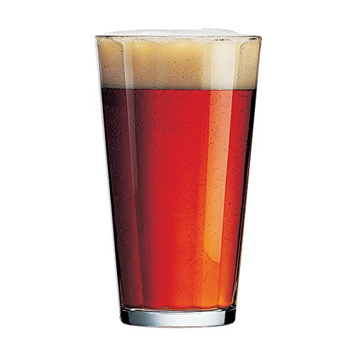 Cardinal 19343 Arcoroc 16 oz Pub Glass - 24 / CS (Fully Tempered Arcoroc Glass)