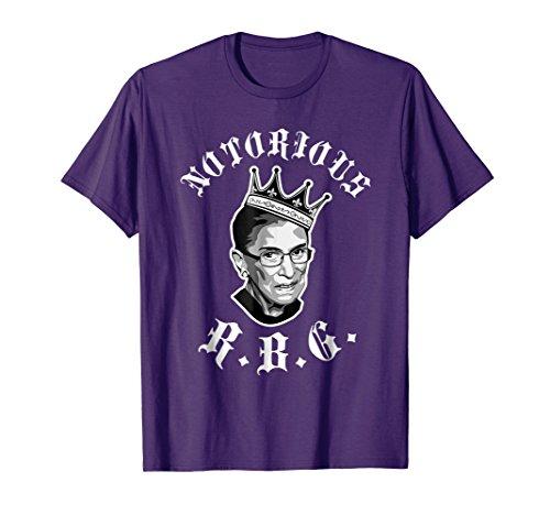 Funny Ruth Bader Ginsberg T-shirt - NOTORIOUS RBG shirt