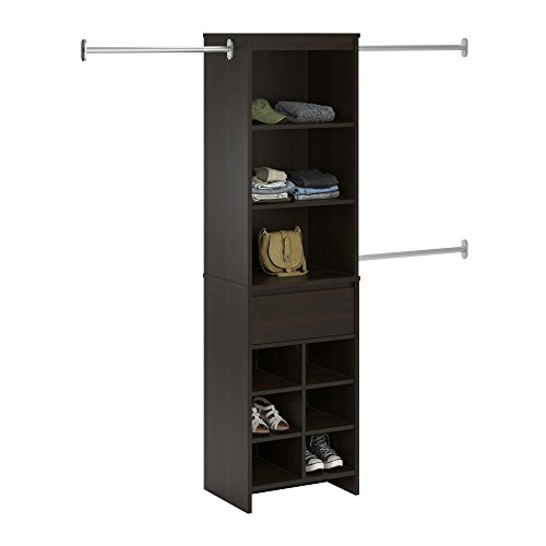 Ameriwood Home Adult Closet System, Espresso by Ameriwood Home (Image #6)