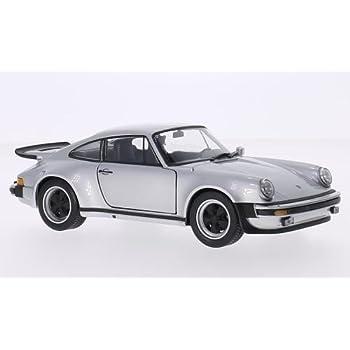 Porsche 911 Turbo 3.0, silver, 1974, Model Car, Ready-made,