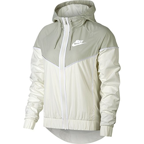 Nike Womens Windrunner Track Jacket Sail/Light Bone/White 883495-133 Size Small