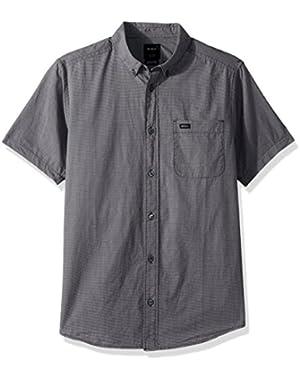 Men's Thatll Do Micro Short Sleeve Woven Shirt