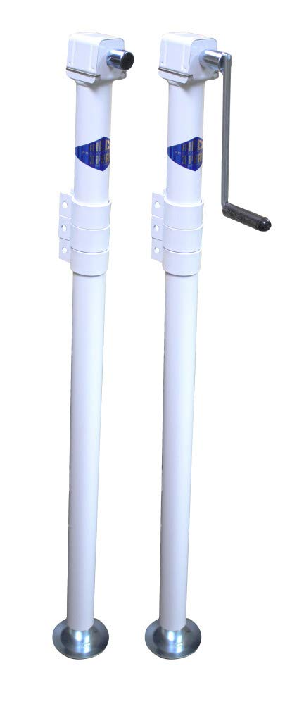Rieco-Titan Products TFC2A3W Any Corner Camper Jack (2 Pack) - 44321