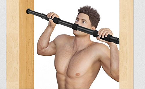 LXOICE Pull up Bar, Chin up Bar Door Way with 2 Sets of Screws in...