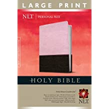 Holy Bible NLT, Personal Size Large Print edition, TuTone