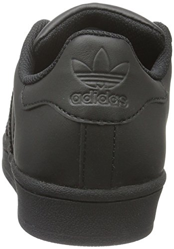 Foundation Unisex Black Zapatillas Black core Infantil core Adidas Superstar Negro qRn4WAxxSw