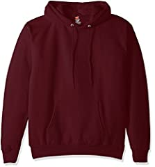 The Hanes comfort blend eco smart pullover hoodie provides medium-weight fleece comfort all year around. Even better, Hanes keeps plastic bottles out of landfills by using recycled polyester.