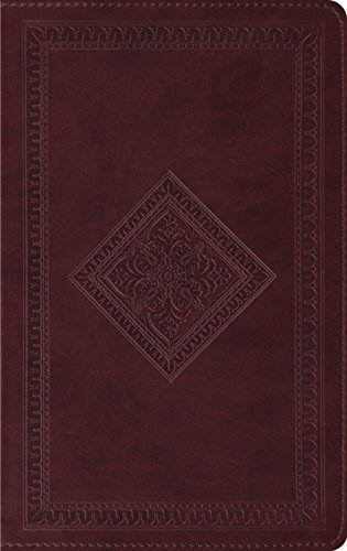 (Esv Thinline Bible (trutone, Chestnut, Diamond Design) by Crossway Books (July 19,2007))