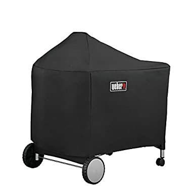 Weber 7152 Grill Cover with Storage Bag for Performer Premium and Deluxe, 22 Inch