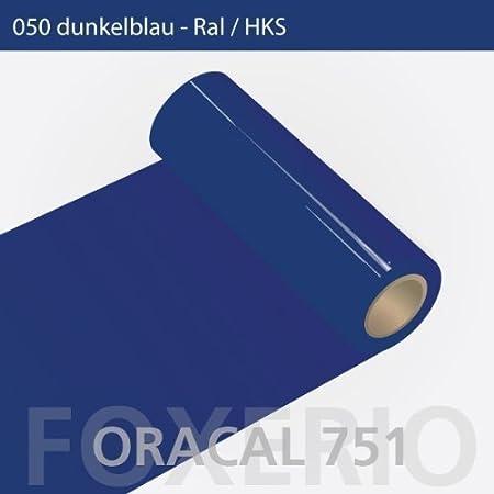 Your Design Oracal 751 – 050 Color Azul Oscuro – 63 cm Rollo 25 m: Amazon.es: Hogar