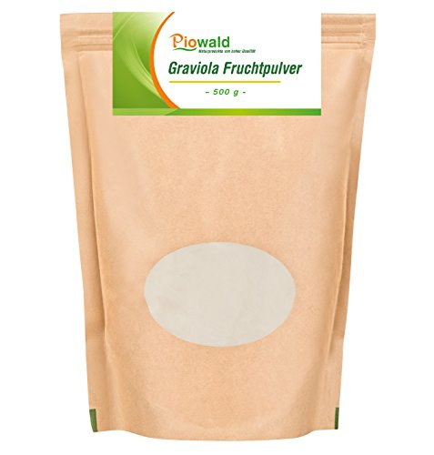 Piowald Graviola Fruchtpulver - 500g