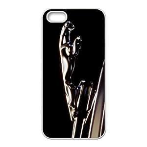 Jaguar 002 funda iPhone 5 5S Cubierta blanca del teléfono celular de la cubierta del caso funda EOKXLLNBC10562