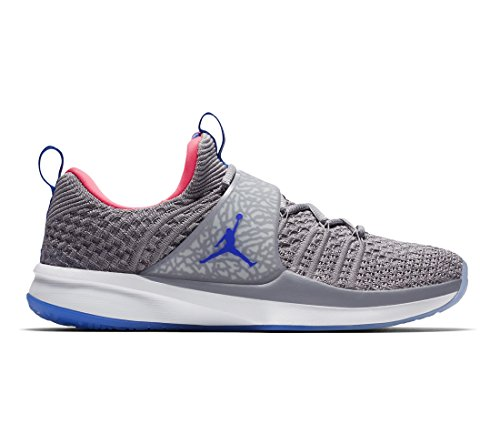 008 Homme Multicolore Chaussures Flyknit Race de Fitness 2 Jordan Trainer Grey Atmosphere 0qBxUPY